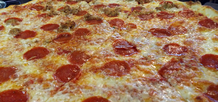 NYC Style Thin Crust Pizza Vermont
